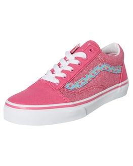 CARMINE ROSE KIDS GIRLS VANS SNEAKERS - VNA38HBVJ2CROSE