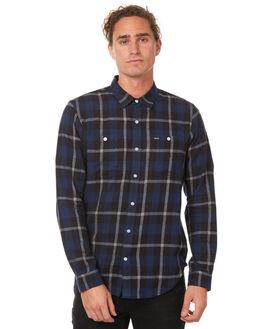 BLACK MENS CLOTHING RVCA SHIRTS - R171185BLK