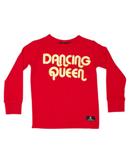 RED KIDS GIRLS ROCK YOUR KID TOPS - TGT1947-DQRED