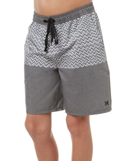 COOL GREY KIDS BOYS HURLEY BOARDSHORTS - ABBSZIZG06B