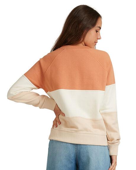TOASTED NUT WOMENS CLOTHING ROXY JUMPERS - URJFT03084-CKN0