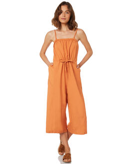 RUST WOMENS CLOTHING BETTY BASICS PLAYSUITS + OVERALLS - BB812HS18RUST