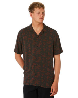 BLACK OUTLET MENS SWELL SHIRTS - S5202174BLACK