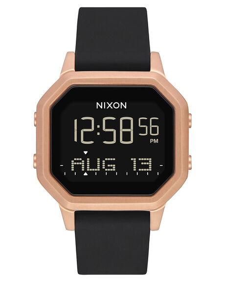 ROSE GOLD BLACK WOMENS ACCESSORIES NIXON WATCHES - A12111098
