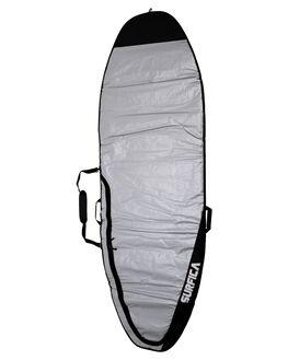 BLACK GREY BOARDSPORTS SURF SURFICA GSI BOARDCOVERS - SA-BB-SUPALL-BLKGR