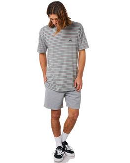 BLUE MENS CLOTHING STUSSY TEES - ST083103BLU