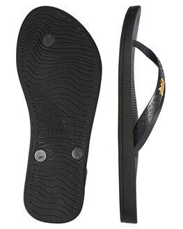 BLACK WOMENS FOOTWEAR REEF THONGS - A3VDIBLA