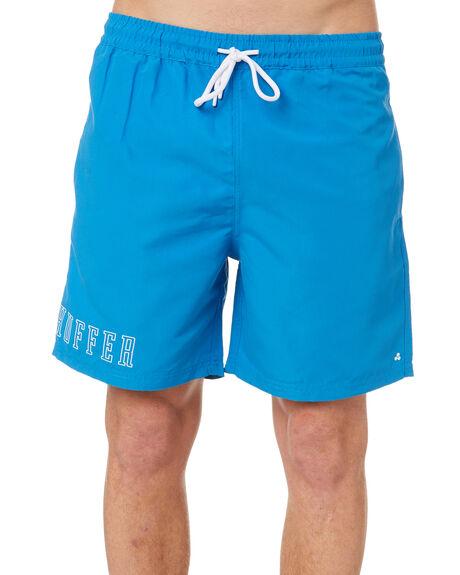 HAVANA BLUE MENS CLOTHING HUFFER BOARDSHORTS - HMSO10STPL-521HAVBL