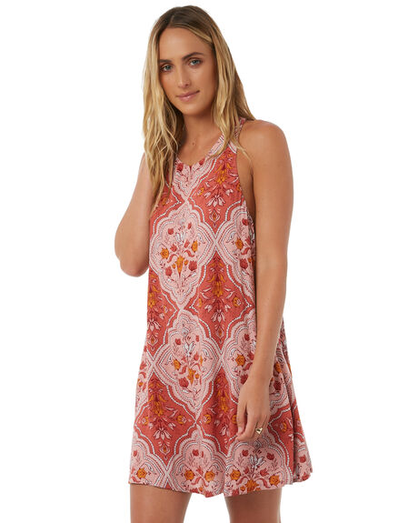 TERRACOTTA WOMENS CLOTHING TIGERLILY DRESSES - T385408TERR