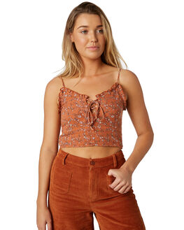 TAN OUTLET WOMENS THE HIDDEN WAY FASHION TOPS - H8184168TAN