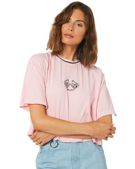 PRISM PINK WOMENS CLOTHING AFENDS TEES - W191001PRI