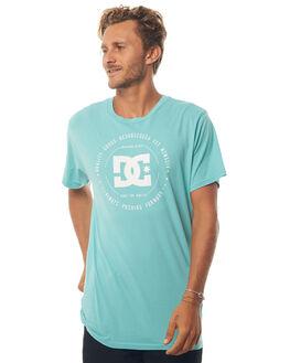 MARINE BLUE MENS CLOTHING DC SHOES TEES - UDYZT03468BHA0