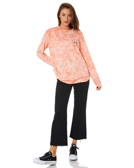 PEACH WOMENS CLOTHING STUSSY TEES - ST105100PEACH