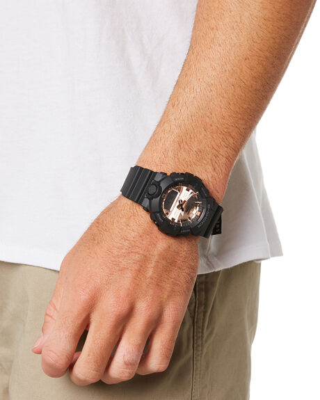 BLACK GOLD MENS ACCESSORIES G SHOCK WATCHES - GA-800MMC-1ADRBLKGD