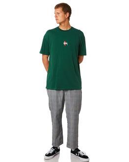 PLAID MENS CLOTHING STUSSY PANTS - ST095618PLD