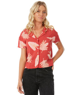 RED WOMENS CLOTHING INSIGHT FASHION TOPS - 5000001756RED