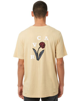 CLAY MENS CLOTHING RVCA TEES - R181052CLAY