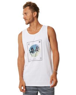 WHITE MENS CLOTHING BILLABONG SINGLETS - 9572503WHT