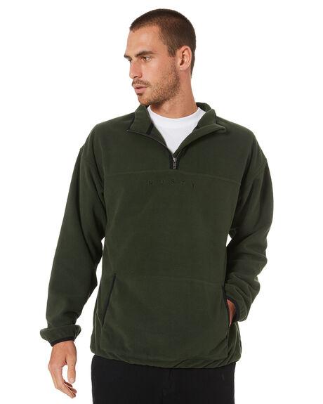GUN GREEN MENS CLOTHING RUSTY JUMPERS - FTM0950GGN