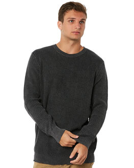 ACID BLACK MENS CLOTHING ROLLAS KNITS + CARDIGANS - 10335112