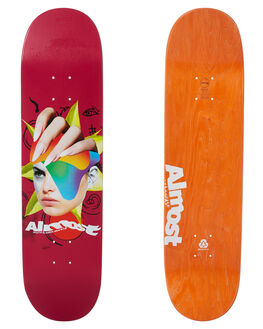 RED BOARDSPORTS SKATE ALMOST DECKS - 10023695RED