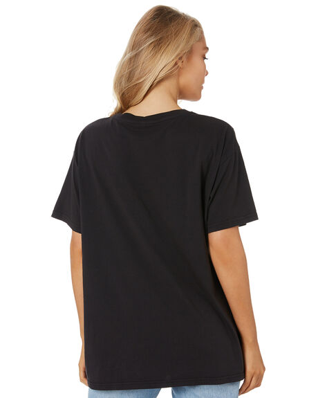 WASHED BLACK WOMENS CLOTHING ALL ABOUT EVE TEES - 6473006WBLK