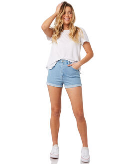 VINTAGE SKY WOMENS CLOTHING WRANGLER SHORTS - W-951260-GB3