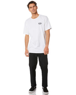 WHITE MENS CLOTHING VANS TEES - VN0A4MRHWHTWHT