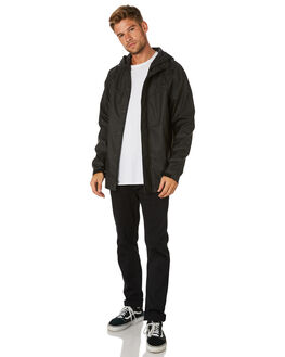 BLACK MENS CLOTHING BILLABONG JACKETS - 9595902BLK