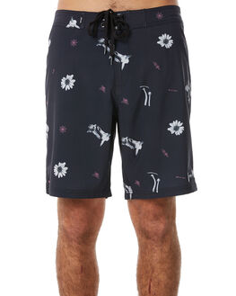 DEEP NAVY MENS CLOTHING AFENDS BOARDSHORTS - M183307DNAVY