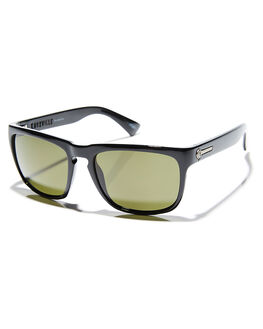 GLOSS BLACK GREY POLAR MENS ACCESSORIES ELECTRIC SUNGLASSES - EE09001642GBLKP