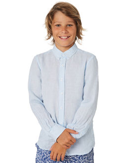 BLUE KIDS BOYS ACADEMY BRAND TOPS - B19S831BLU