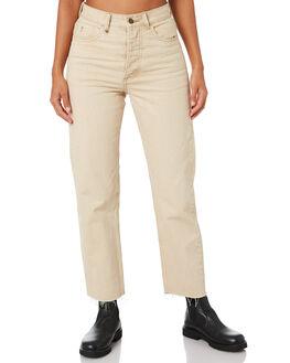 DESERT SAND WOMENS CLOTHING THRILLS JEANS - WTDP-431JDSRT