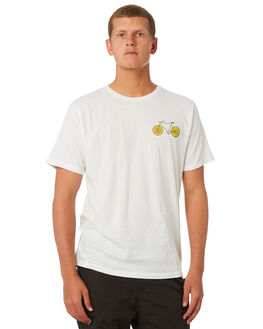 WHITE MENS CLOTHING MOLLUSK TEES - MS1776WHT