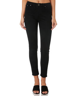 BLACK WOMENS CLOTHING SWELL JEANS - S8189193BLACK