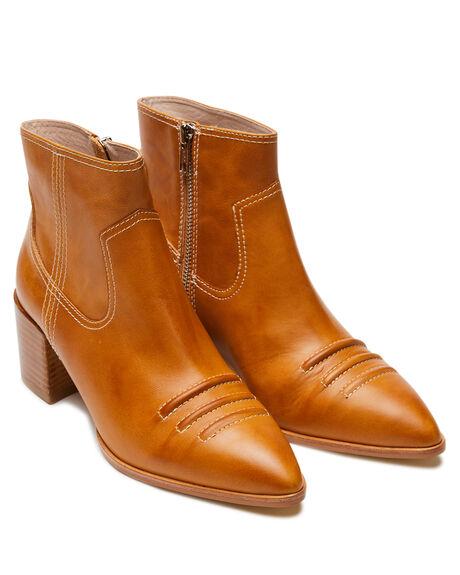 TAN GUM OUTLET WOMENS SOL SANA BOOTS - SS201W308TAN