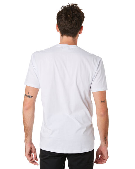WHITE OUTLET MENS HUFFER TEES - MTE93S40151WHT