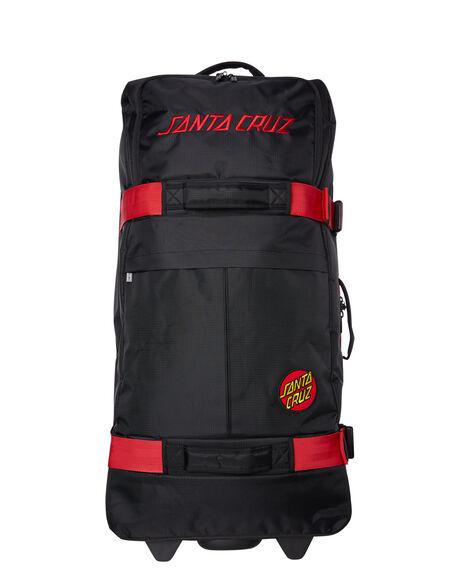 BLACK MENS ACCESSORIES SANTA CRUZ BAGS + BACKPACKS - SC-MAC9317BLK