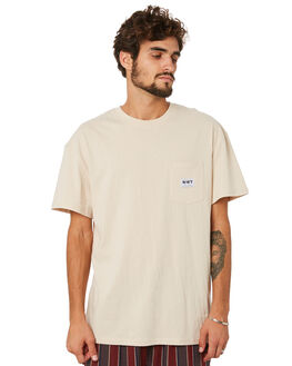 WARM WHITE MENS CLOTHING MISFIT TEES - MT093001WRMWH