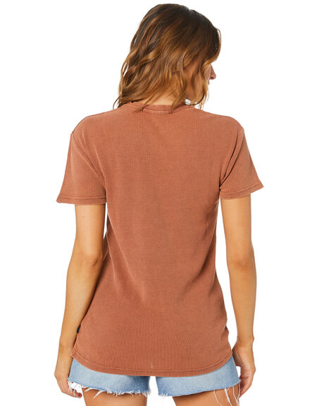 RUST WOMENS CLOTHING SILENT THEORY TEES - 6063046RUST