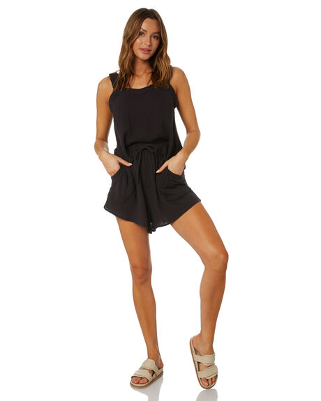 WASHED BLACK OUTLET WOMENS RIP CURL FASHION TOPS - GSHHK18264