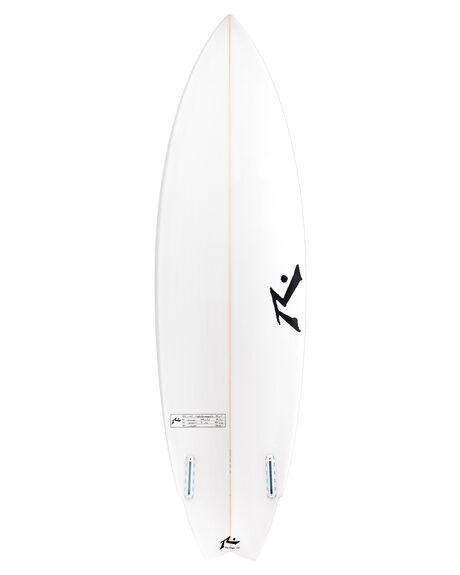 CLEAR BOARDSPORTS SURF RUSTY SURFBOARDS - TFINCLR