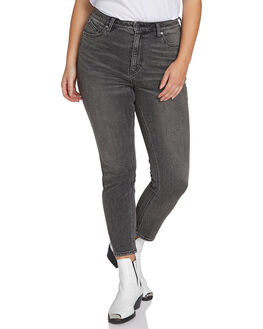 BLACKITY BLACK WOMENS CLOTHING VOLCOM JEANS - B1911806PBBK