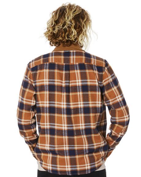 FEATHER GREY MENS CLOTHING RUSTY SHIRTS - WSM0921FTG