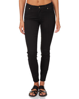 STELLAR BLACK WOMENS CLOTHING WRANGLER JEANS - W-950327-Y86STEL