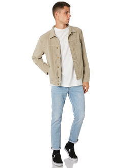 DUSTY SAGE MENS CLOTHING THRILLS JACKETS - TH9-206FDSTSG
