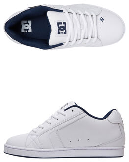 WHITE BATTLESHIP MENS FOOTWEAR DC SHOES SNEAKERS - 302297-HHB