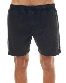 VINTAGE BLACK MENS CLOTHING THRILLS SHORTS - TS7-318VBVBLK