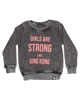 BLACK KIDS TODDLER GIRLS LITTLE LORDS JUMPERS - GSTRNGSWTBLK