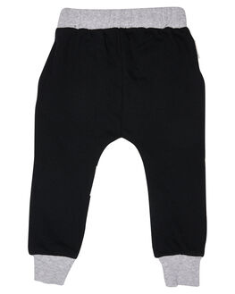 BLACK KIDS GIRLS TINY TRIBE PANTS - TTGW18-3006RBLK